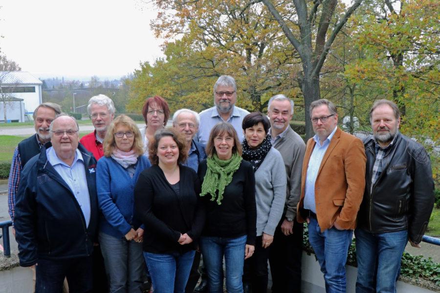 Die Mitglieder der SPD-Ratsfraktion